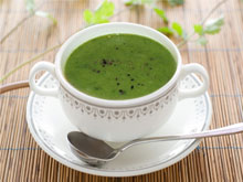Spinach Soup in Tokyo